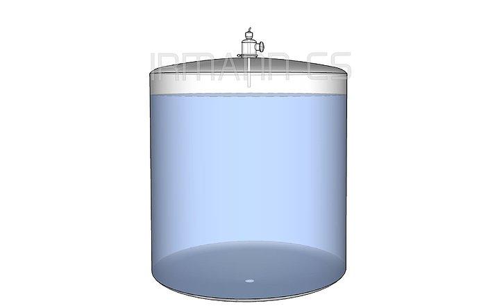 Průtočné UV do pláště zásobníků  Standardní způsob instalace (viz video níže)